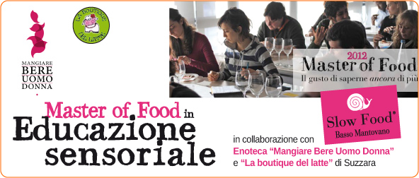 Master of Food in Educazione sensoriale