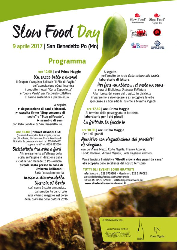 Slow Food Day 2017 - SAN BENEDETTO PO (MN) - 9 aprile 2017
