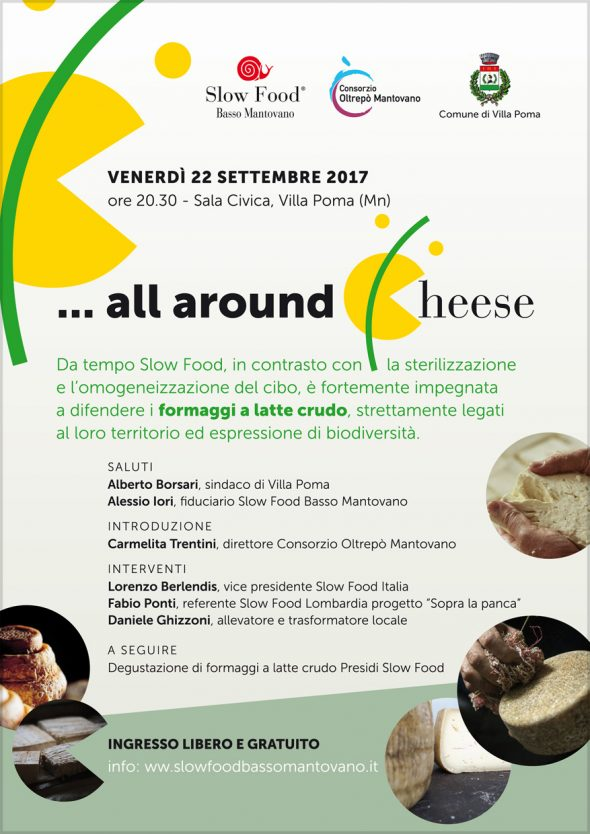 All Around Cheese - A difesa dei formaggi a latte crudo