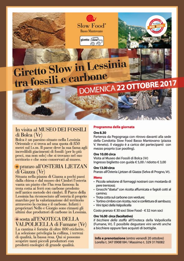 Giretto Slow in Lessinia tra fossili e carbone